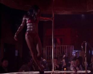 megalyn echikunwoke topless as stripper on house of lies 5537 2
