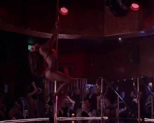 megalyn echikunwoke topless as stripper on house of lies 5537 4
