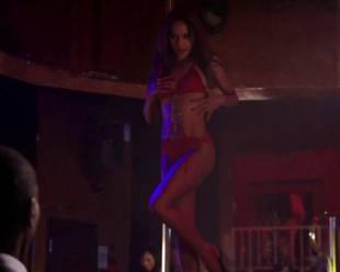 megalyn echikunwoke topless as stripper on house of lies 5537 5