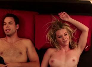megan stevenson topless for sex in bed in cavemen 4526 10