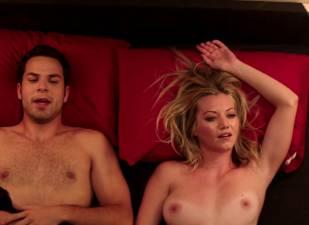 megan stevenson topless for sex in bed in cavemen 4526 11