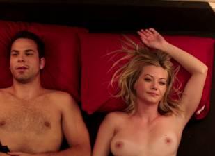 megan stevenson topless for sex in bed in cavemen 4526 15