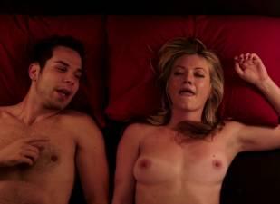 megan stevenson topless for sex in bed in cavemen 4526 21