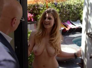 meghan falcone topless breasts unleashed on californication 8259 2