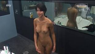 micaela schaefer nude in the shower on big brother germany 2912 20
