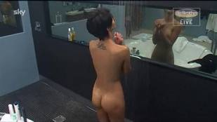 micaela schaefer nude in the shower on big brother germany 2912 21