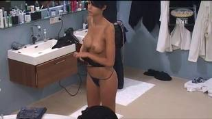 micaela schaefer nude in the shower on big brother germany 2912 29