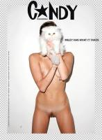 miley cyrus nude full frontal in candy magazine 7986 8
