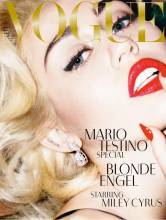 miley cyrus topless marilyn monroe in vogue germany 9626 1