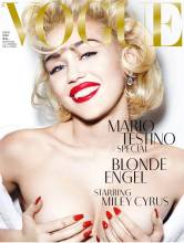 miley cyrus topless marilyn monroe in vogue germany 9626 2