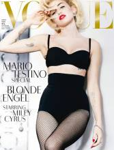 miley cyrus topless marilyn monroe in vogue germany 9626 3