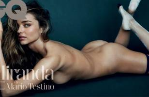 miranda kerr nude on the floor in british gq 9456 2