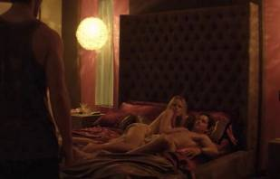 mircea monroe topless in bed from magic mike 6780 1