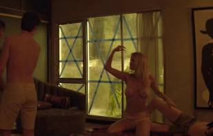 mircea monroe topless in bed from magic mike 6780 12