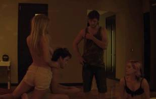 mircea monroe topless in bed from magic mike 6780 6
