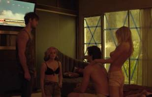 mircea monroe topless in bed from magic mike 6780 7
