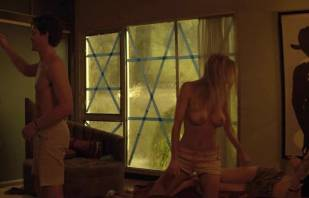 mircea monroe topless in bed from magic mike 6780 8