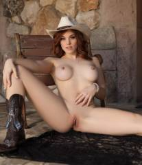 molly stewart nude is a cowgirl in playboy 3560 10