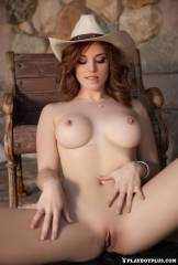 molly stewart nude is a cowgirl in playboy 3560 11