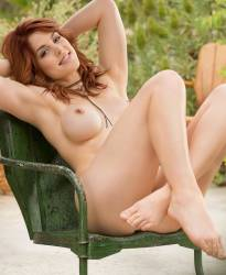 molly stewart nude to spread outdoors for playboy 19
