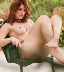 molly stewart nude to spread outdoors for playboy 20