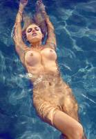monica sims nude full frontal for swim in playboy 5422 11