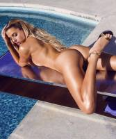 monica sims nude full frontal for swim in playboy 5422 4