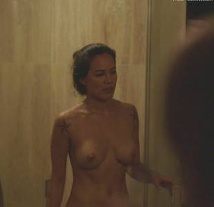 nadine nicole nude after shower in casual 3787 3