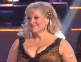nancy grace nipple pops out on dancing with stars 0255 1