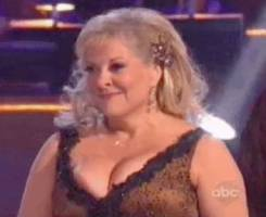 nancy grace nipple pops out on dancing with stars 0255 2