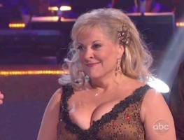 nancy grace nipple pops out on dancing with stars 0255 3