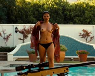 natalie becker topless out of pool in strike back 1748 16