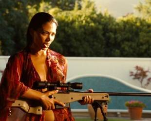 natalie becker topless out of pool in strike back 1748 22