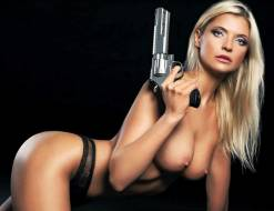 natalija hudobconoka nude for gun lovers everywhere 6564 14