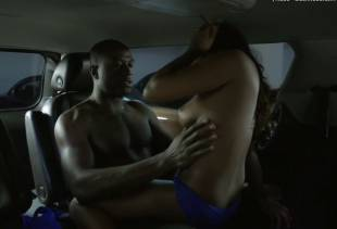 naturi naughton topless car sex scene on power 4068 13