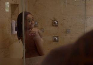 nhya fields cedon nude shower scene in ballers 4977 1