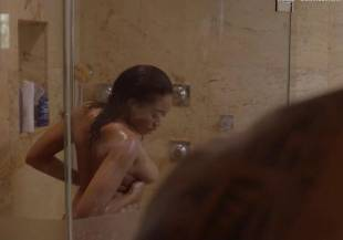 nhya fields cedon nude shower scene in ballers 4977 9