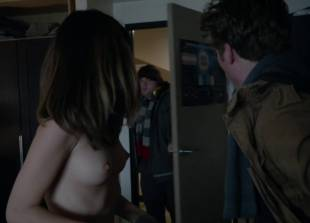 nichole bloom topless before class on shameless 5940 13