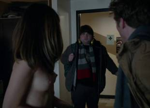 nichole bloom topless before class on shameless 5940 14