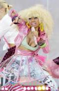 nicki minaj nipple pops out on good morning america 6299 4