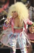 nicki minaj nipple pops out on good morning america 6299 5