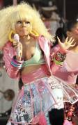 nicki minaj nipple pops out on good morning america 6299 6