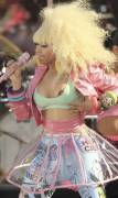 nicki minaj nipple pops out on good morning america 6299 7