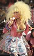 nicki minaj nipple pops out on good morning america 6299 8