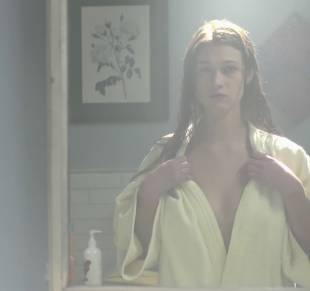 nicole fox topless in the bathroom mirror in ashley 2079 1