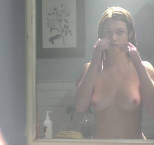 nicole fox topless in the bathroom mirror in ashley 2079 17