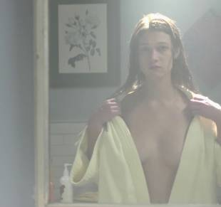 nicole fox topless in the bathroom mirror in ashley 2079 2