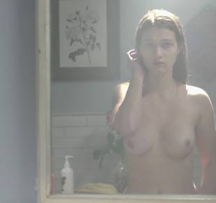 nicole fox topless in the bathroom mirror in ashley 2079 20