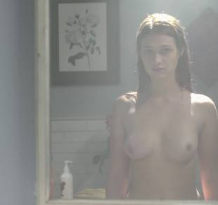 nicole fox topless in the bathroom mirror in ashley 2079 28