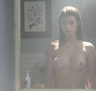 nicole fox topless in the bathroom mirror in ashley 2079 30